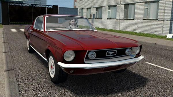 Ford Mustang 2 + 2 Fastback 1968