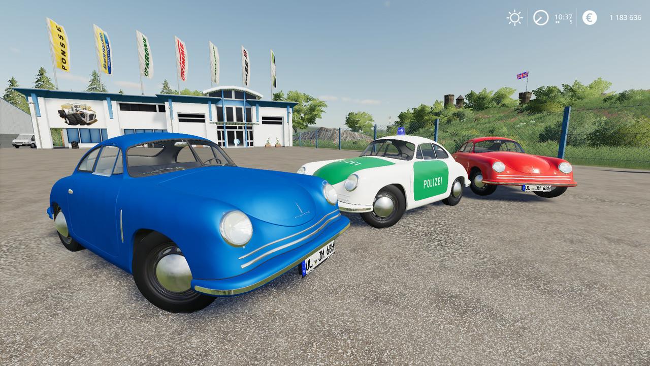 Porsche 356A Coupe 1948