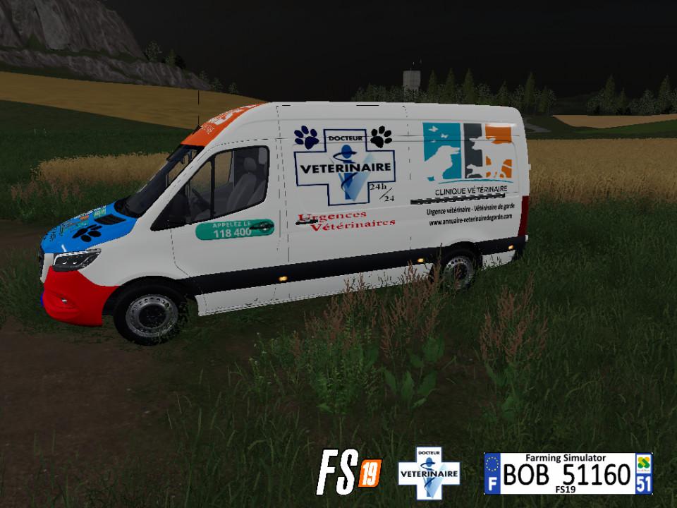 FS19_Mercedes_Emergency_Animals_By_BOB51160