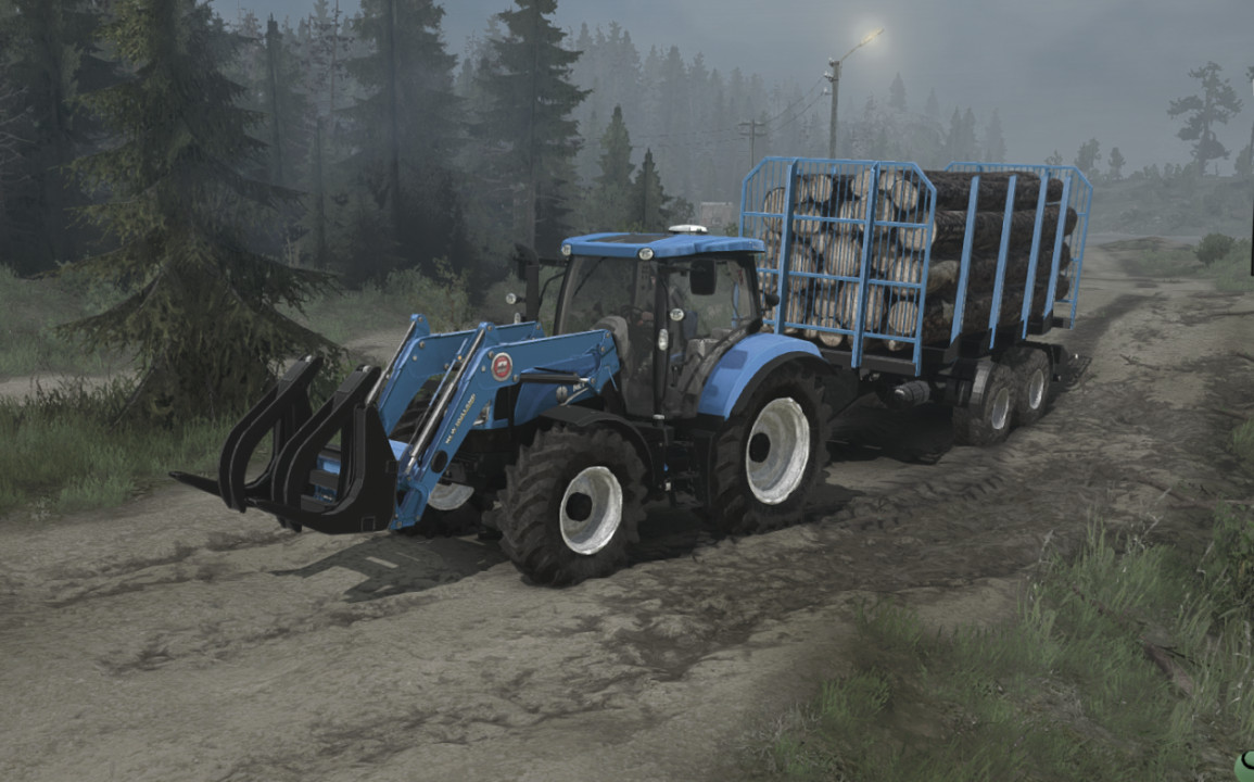 New Holland T6.175 BluePower (14.10.2020)