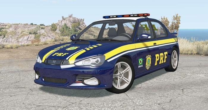 Hirochi Sunburst Brazilian PRF Police
