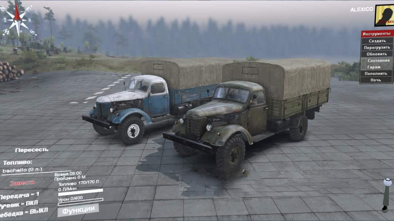 JIEFANG CA10 4×4 Truck