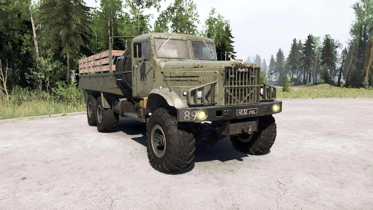 KRAz 255 6×6 Truck