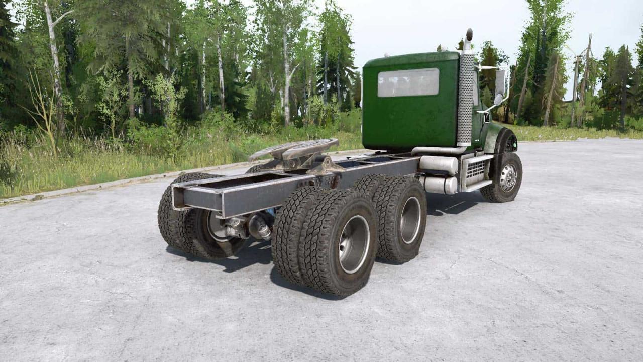 Mack Granite 6×4 Truck