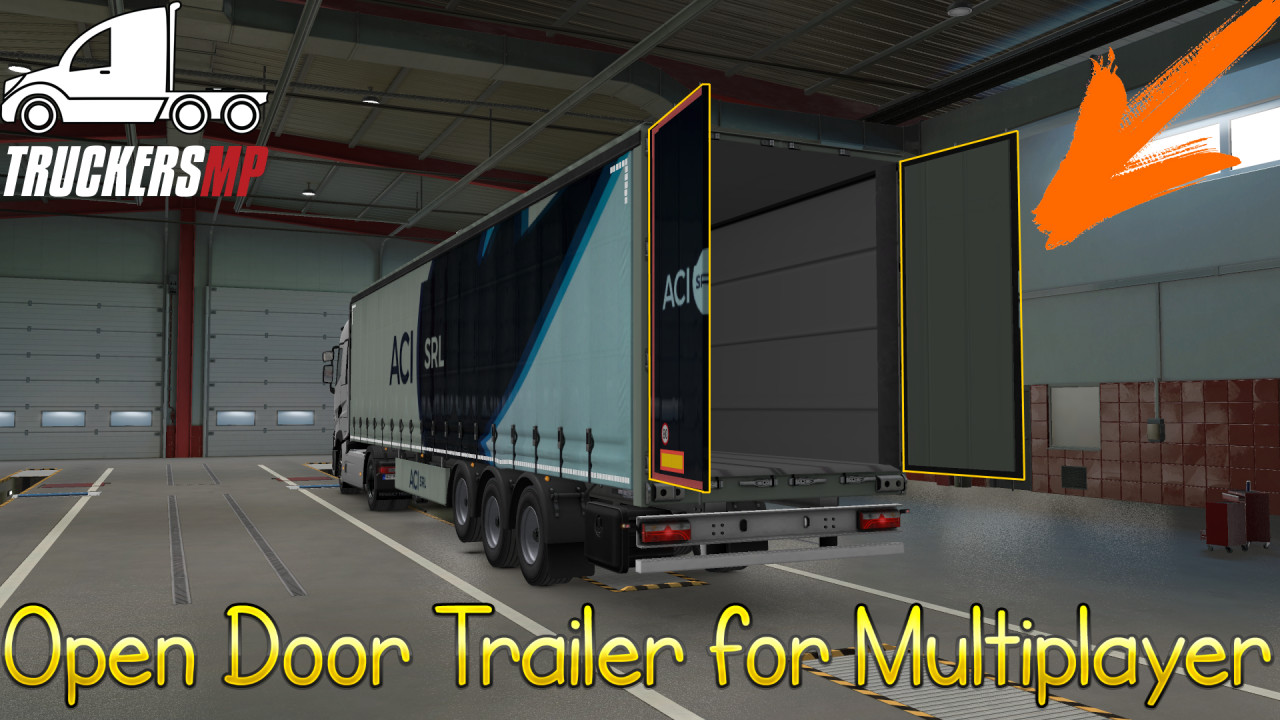 Open Side Trailer For Multiplayer 61 different companies paintjob by MLT