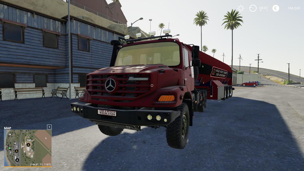 Mercedes Benz Zetros 3643 6x6