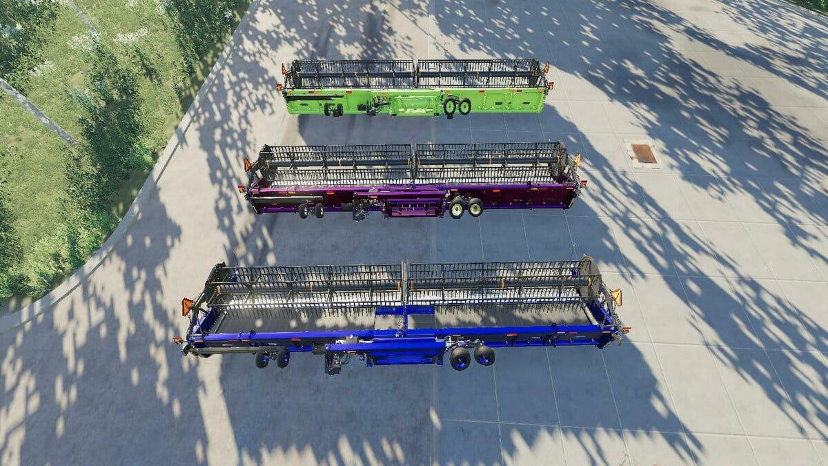 New Holland 3162 Draper 45FT