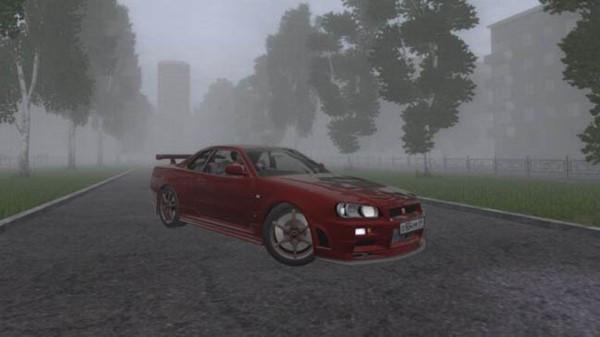 Nissan Skyline GTR V Spec II (R34)