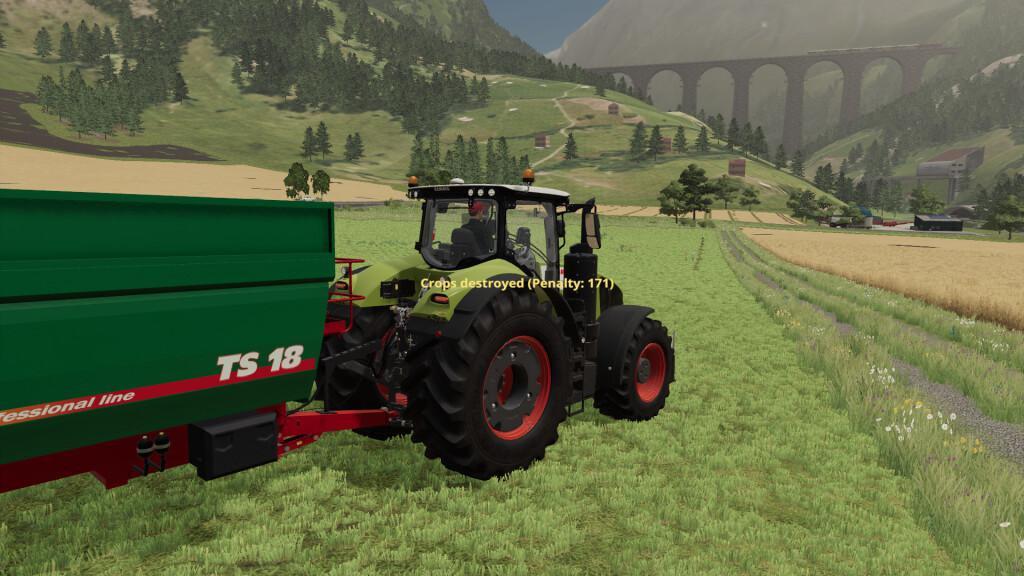 Player Pays For Crop Destruction