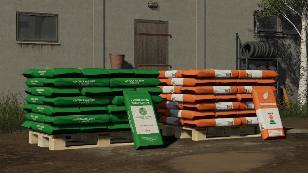 Polish Seed Pallets