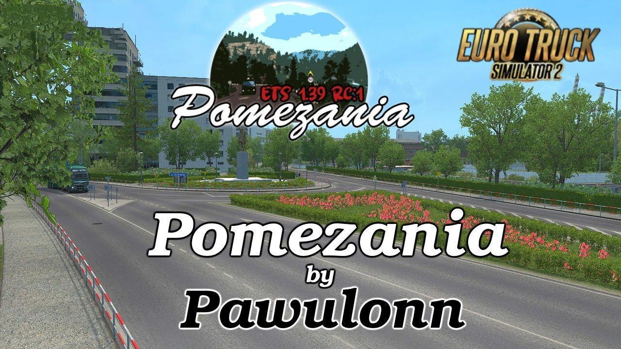 Pomezania Map Scale 1:1