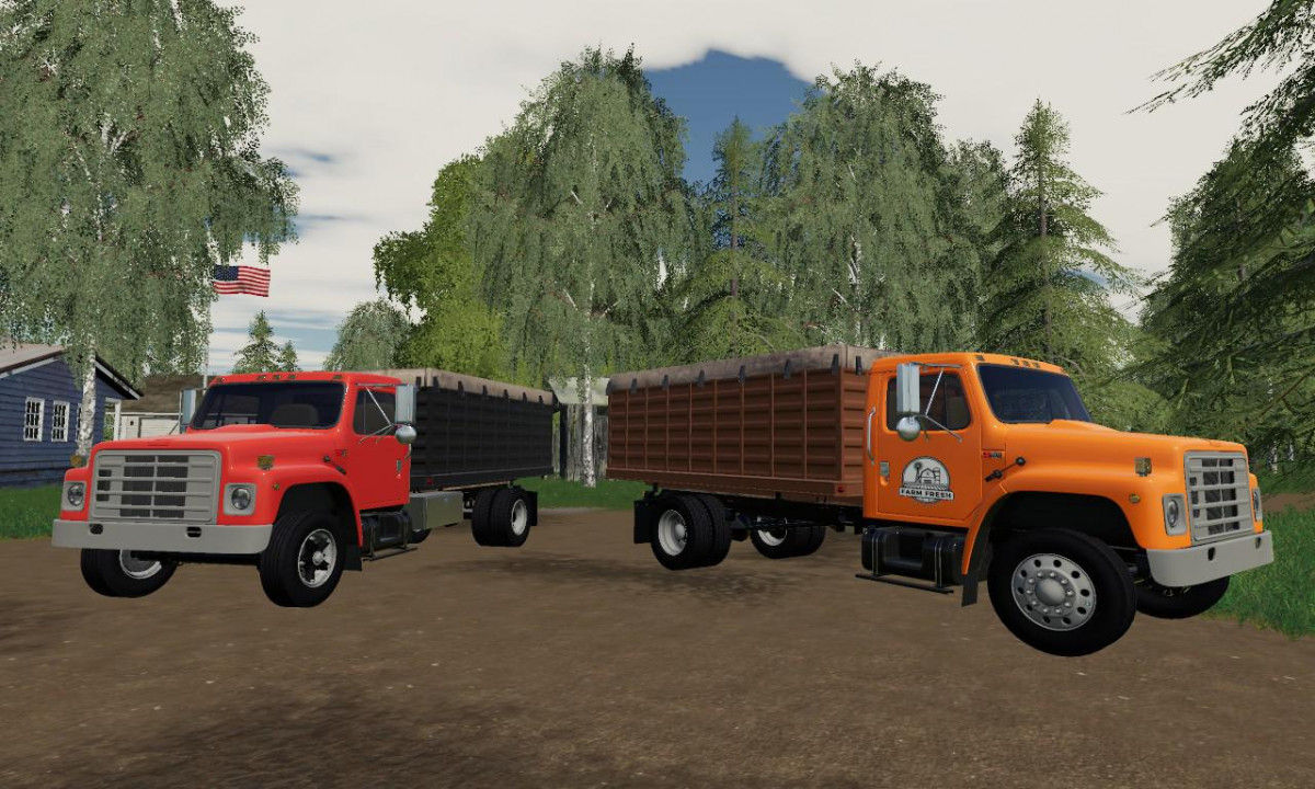 International S1900 Grain Truck