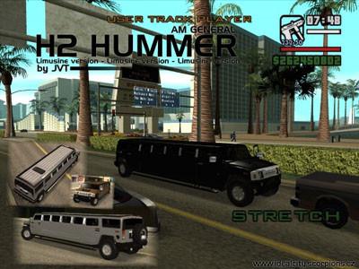 AMG H2 Hummer Limo