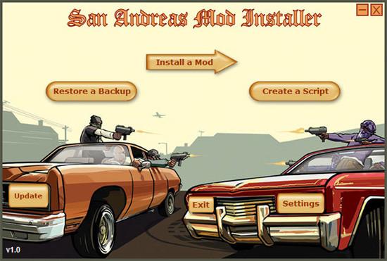 GTA San Andreas Mod Installer (SAMI)