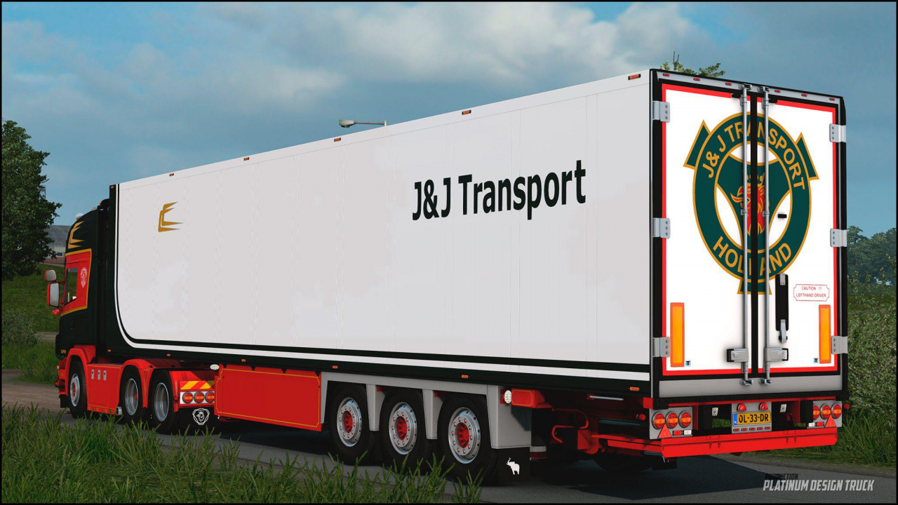 Scania 164 L 480 J&J Transport