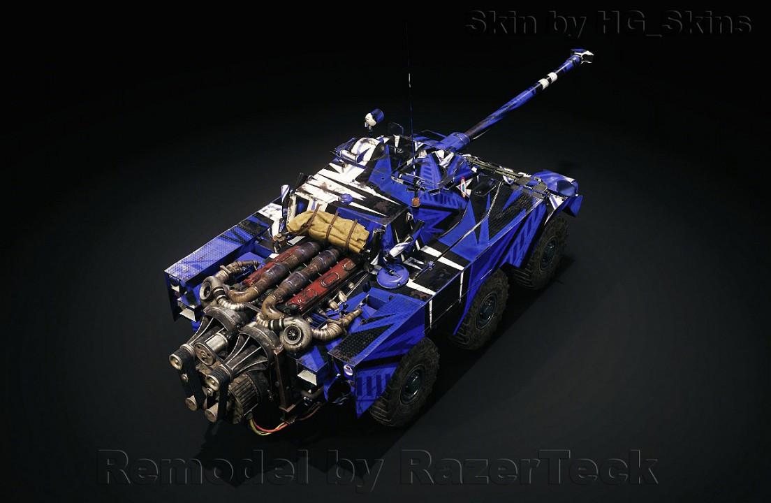 Panhard AML Lynx 6x6 RESKIN/REMODEL