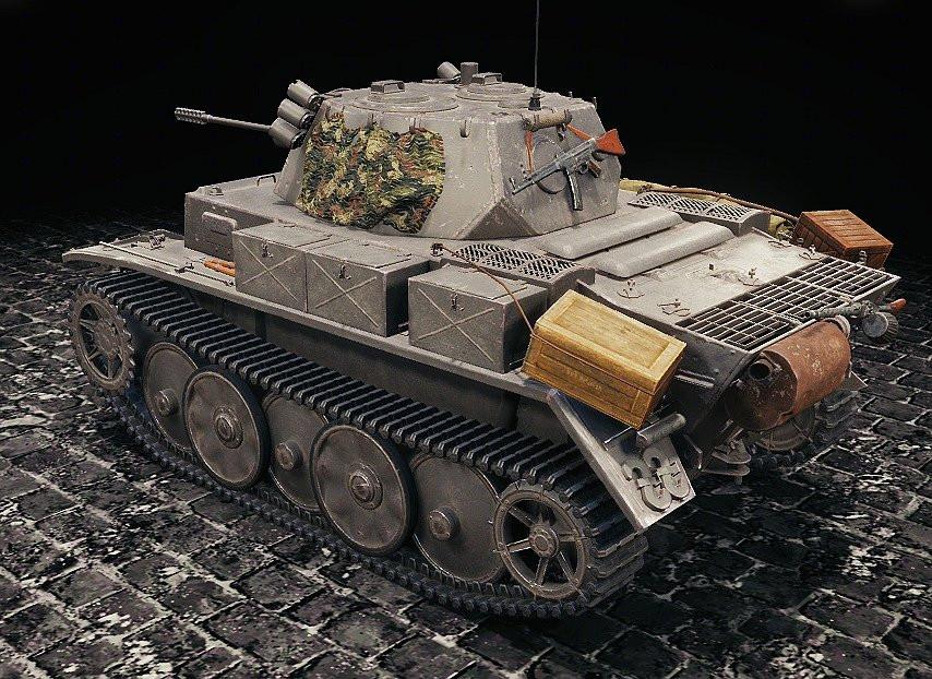 German Light Tanks Remodels
