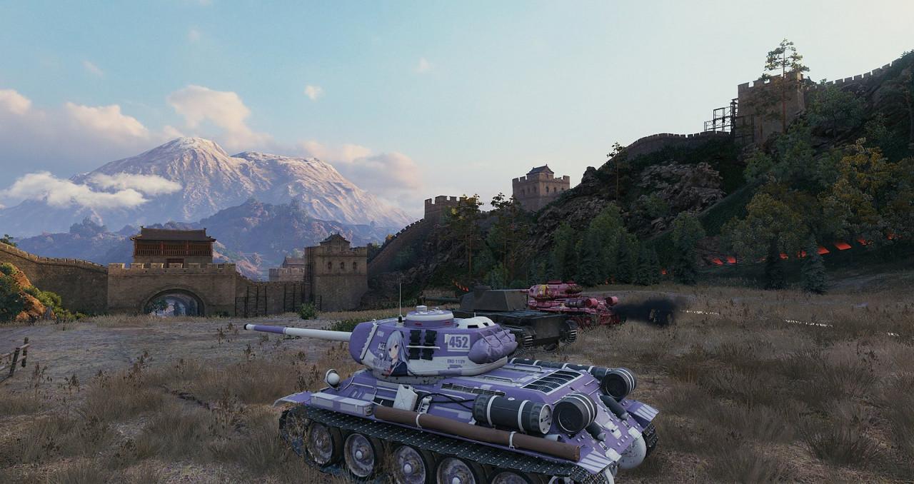 T-34/100 skin