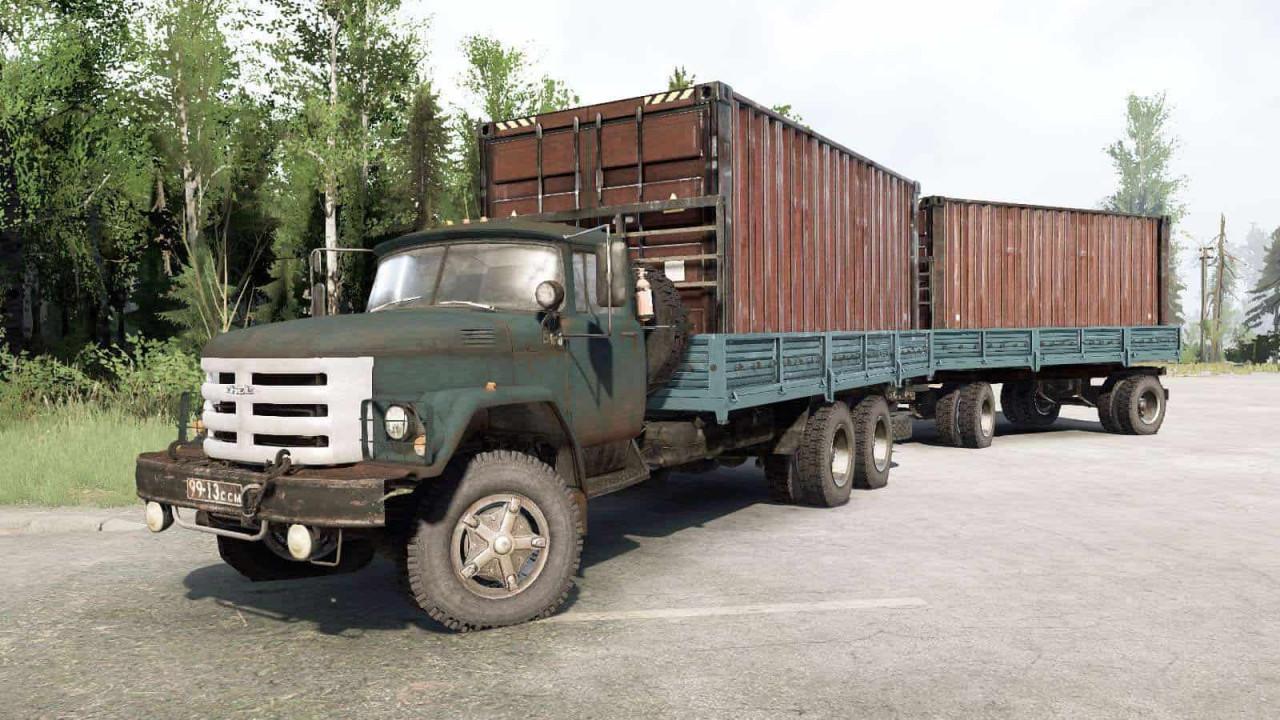 SIL 133GYA 6×6 Truck