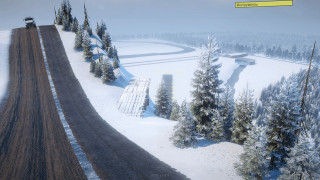 Test winter map car