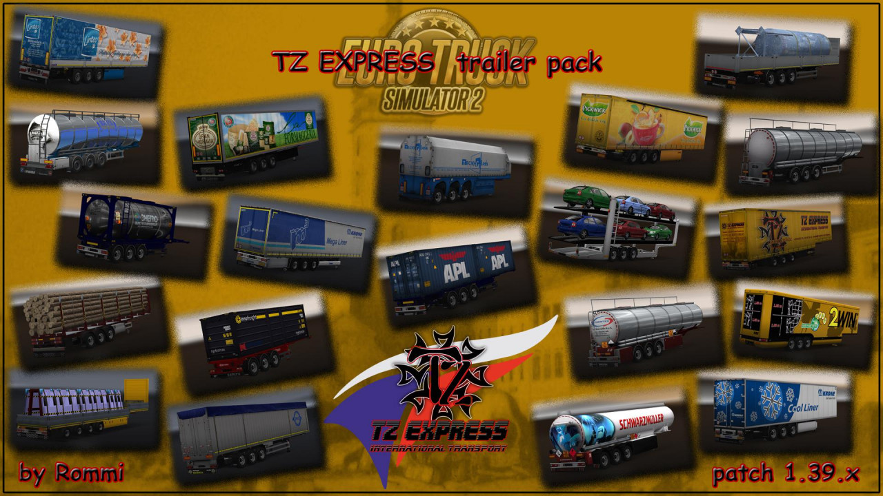 TZ Express Trailers Pack 1.37
