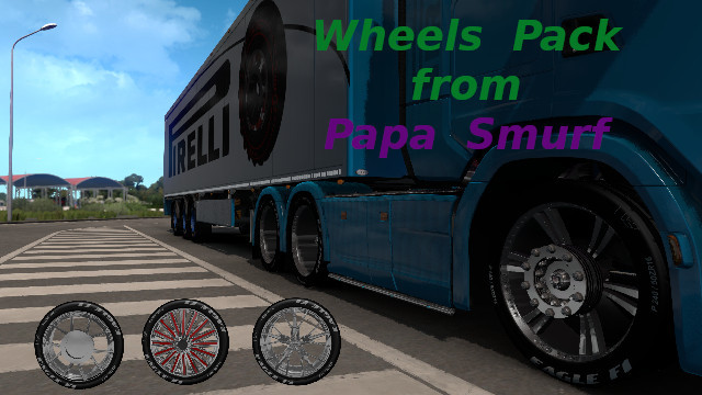 WheelPack from Papa Smurf