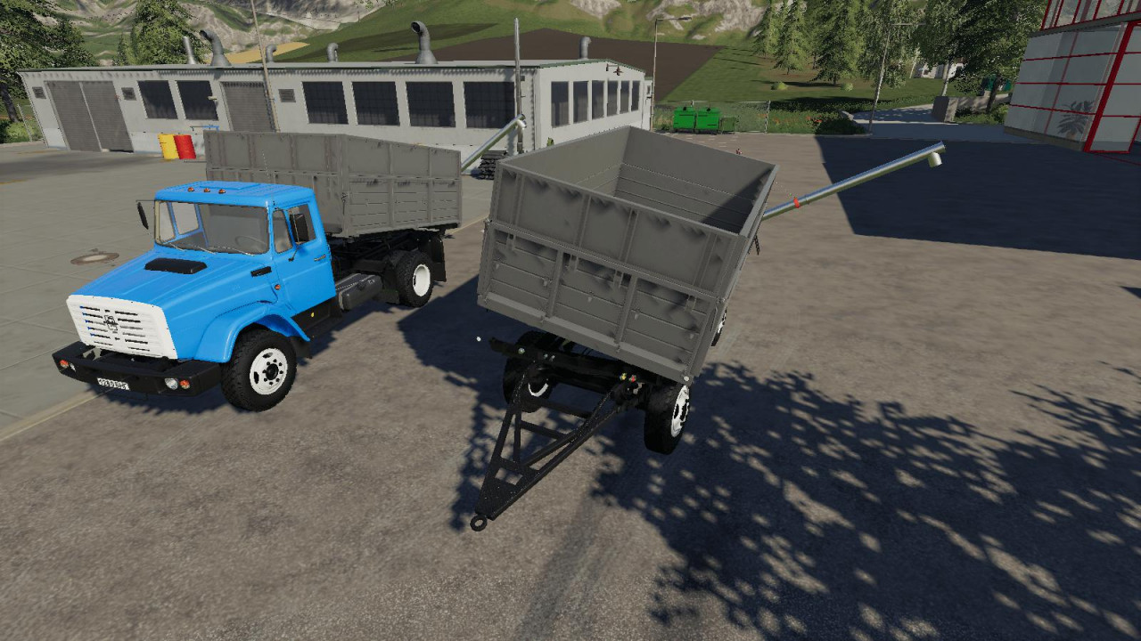 Zil 45065 and Zil 4421 + Trailer