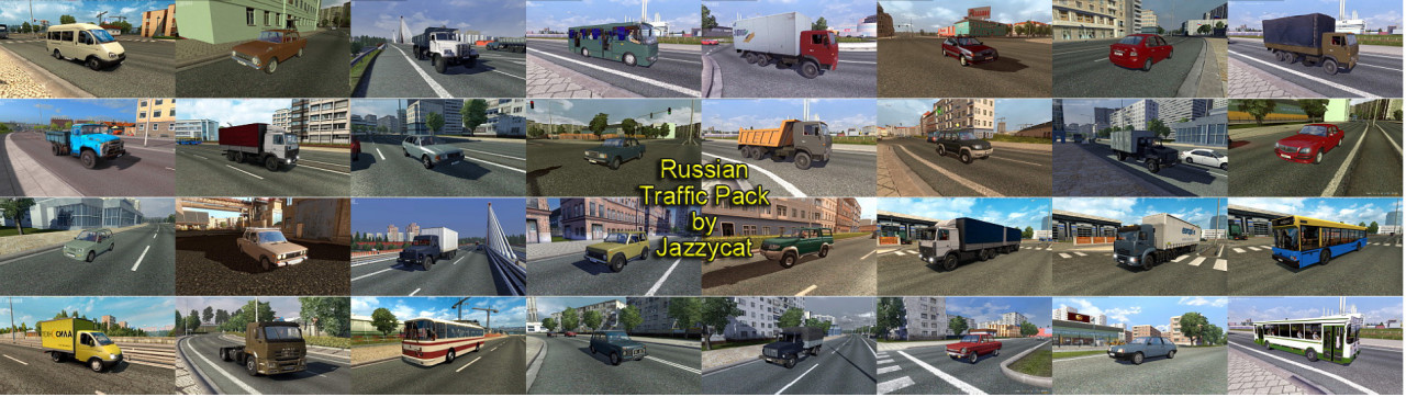 Russian Traffic Pack by Jazzycat
