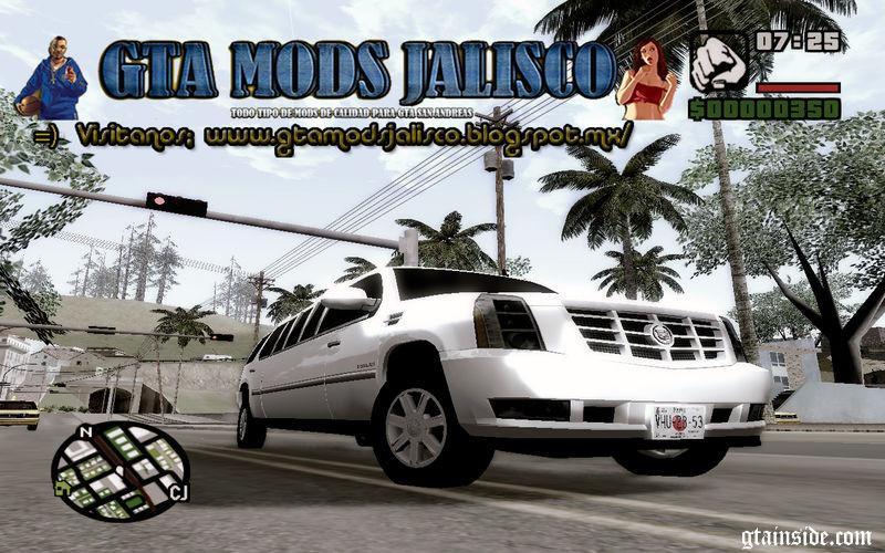 Cadillac Escalade 2008 Limo