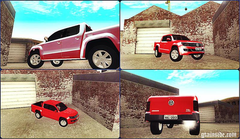 Volkswagen Amarok 2.0 TDi AWD Trendline 2012