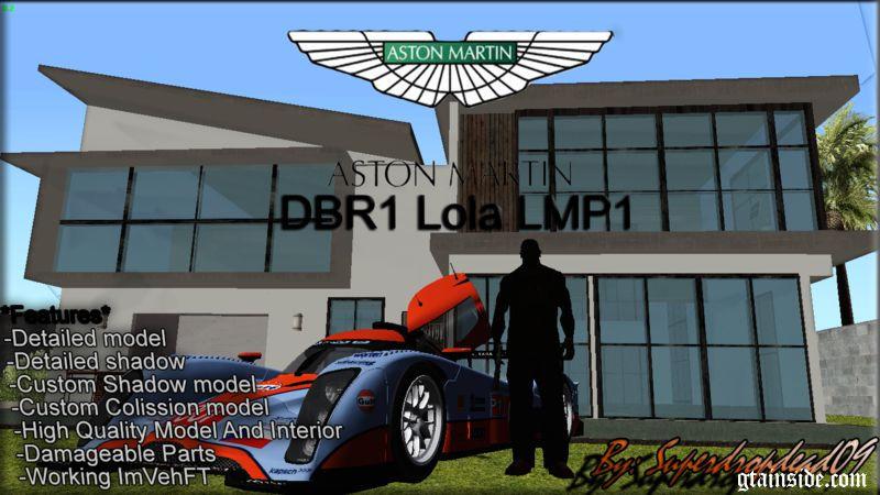 2009 Lola Aston Martin DBR-2 LMP