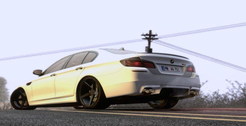 2012 BMW M5 Vossen