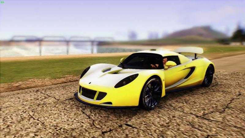 2012 Hennessey Venom GT U.S.A American