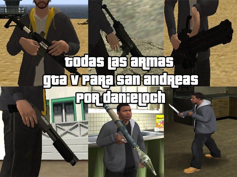 Armas GTA 5 Pack