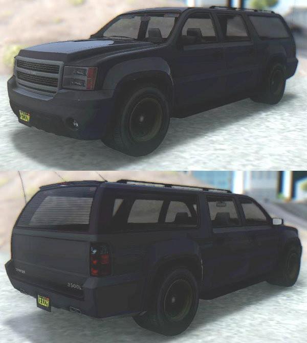 GTA V Declasse Granger FIB SUV
