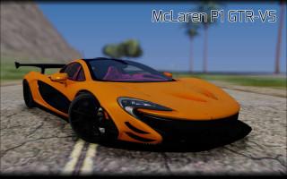 2013 McLaren P1 GTR-VS