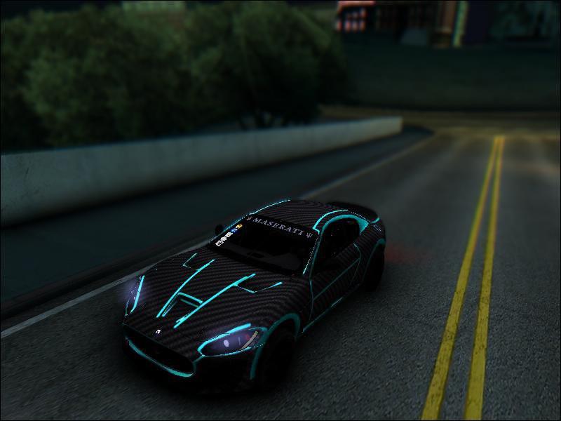 Maserati GranTurismo Tron