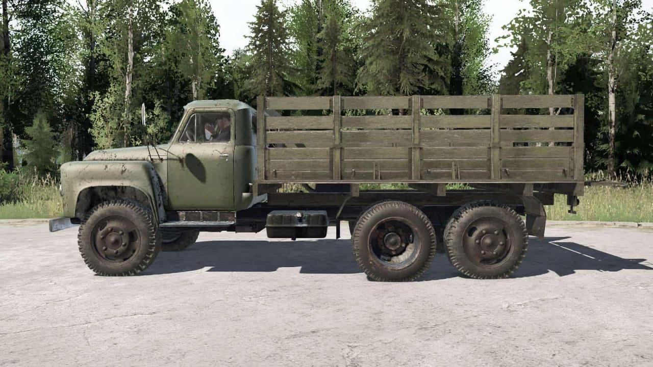GAZ 53A NIIAT 05 Truck