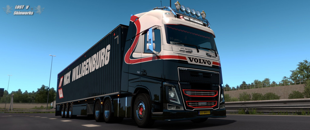 Nick Willigenburg Volvo FH Combo