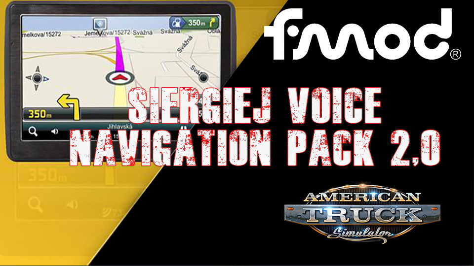 Siergiej Voice Navigation Pack