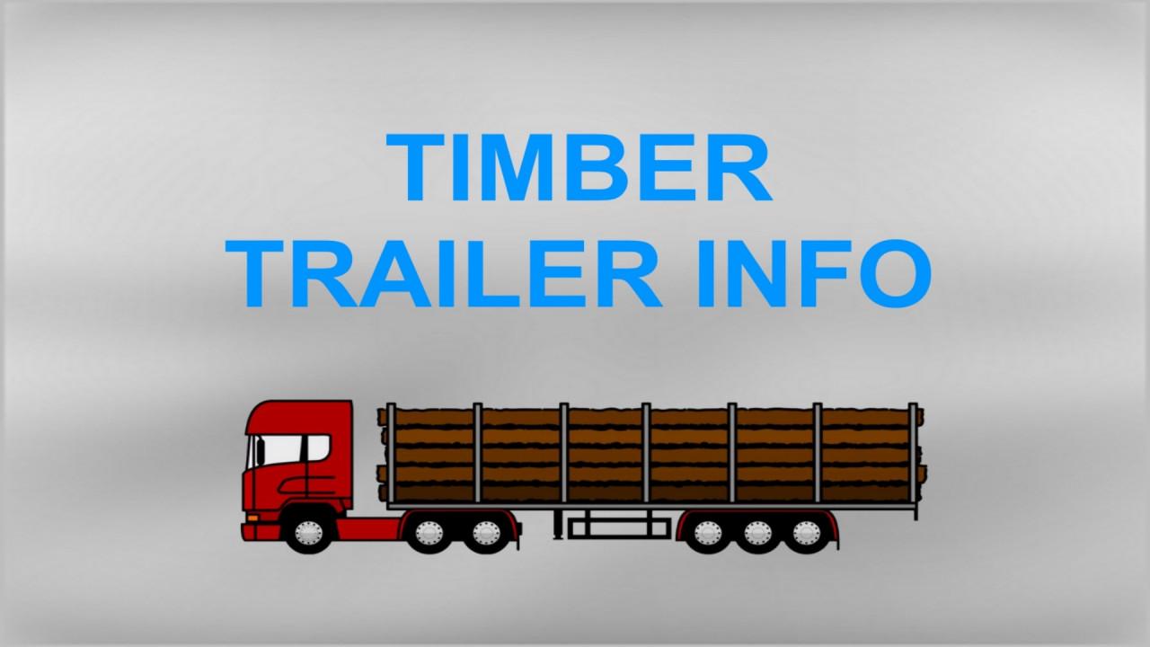 Timber Trailer Info