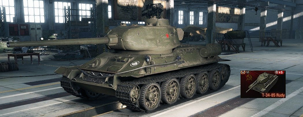 Avalon's T-34-85 Rudy Removal