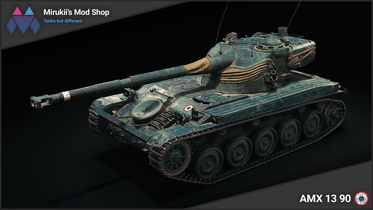 Mirukii's AMX 13 90 Remodel