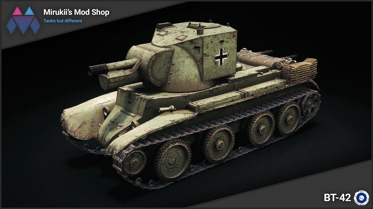 Mirukii's BT-42 Remodel (BT-7 Artillery Replacement)