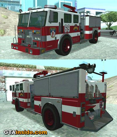 GTAIV Firetruck