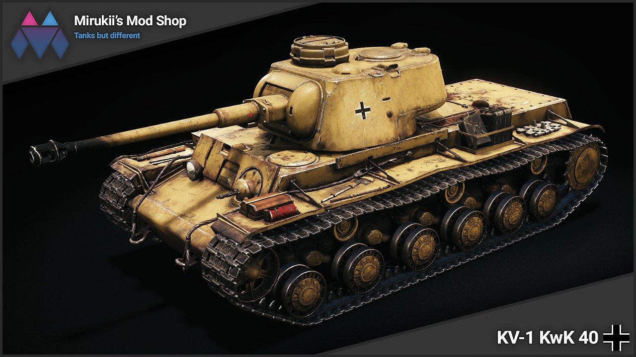 Mirukii's KV-1 KwK 40 Remodel (KV-220-2 Replacement)