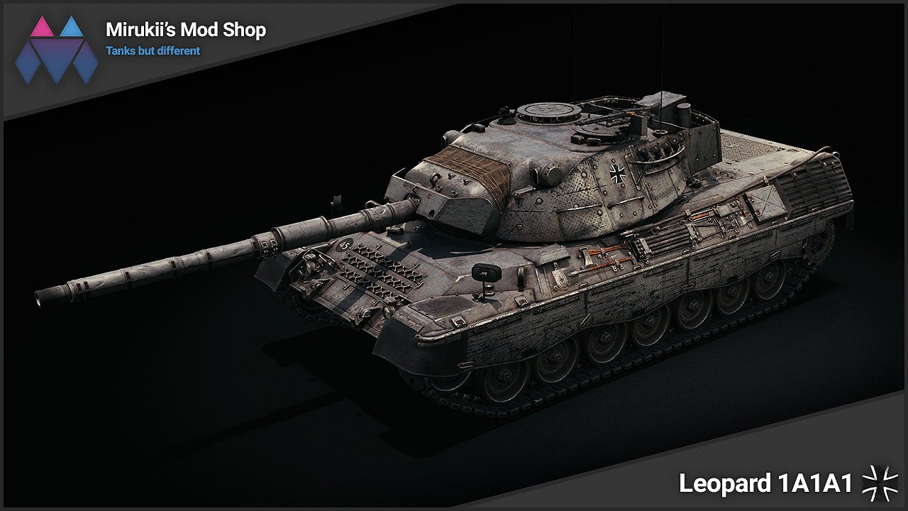 Mirukii's Leopard 1A1A1 Remodel