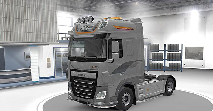 """DAF XF paint job """"Limited Edition"""""""