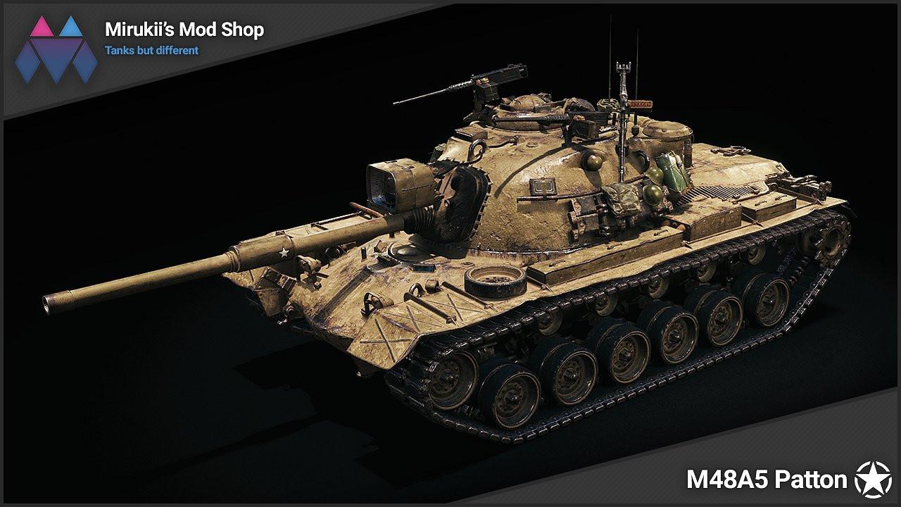 Mirukii's M48A5 Patton Remodel