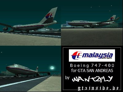 Malaysia Airlines B747